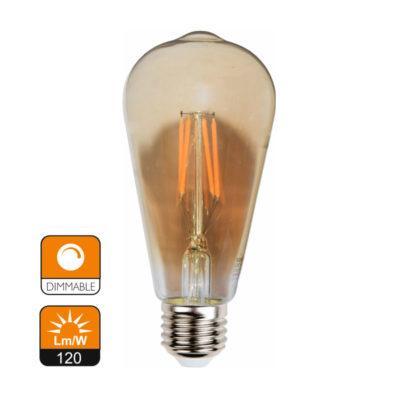 serie filamento st64 amber