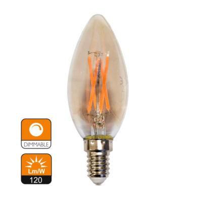 serie filamento c35 vela amber