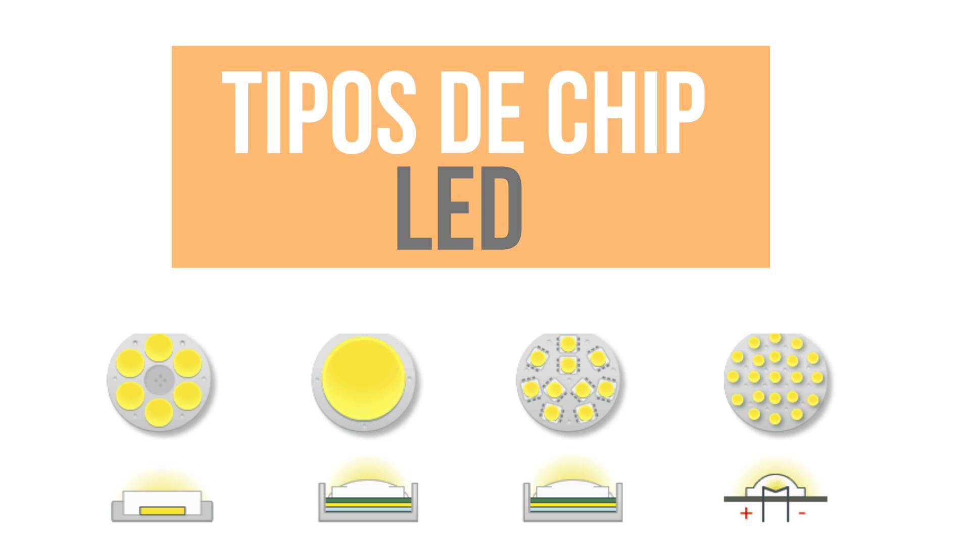Tipos de Chip LED